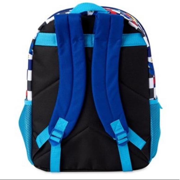 NWT SONIC the HEDGEHOG  Backpack lunchbox pencil case cinch sack GOTTA GO FAST
